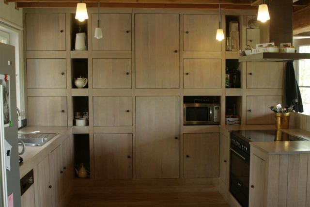 Alle houtwerk - Massieve keukens